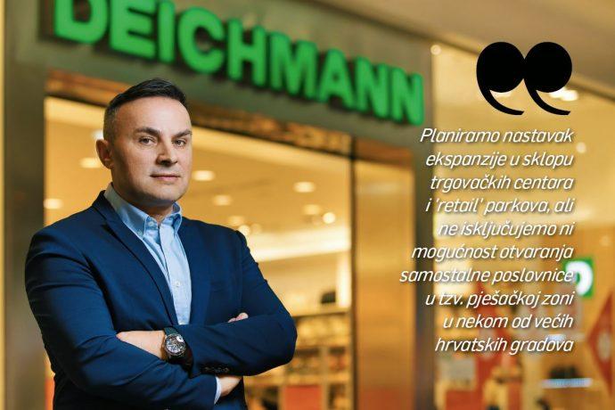 Pero Vrdoljak, voditelj Deichmannove prodaje: Za motivaciju zaposlenika nije dovoljno samo financijsko ulaganje